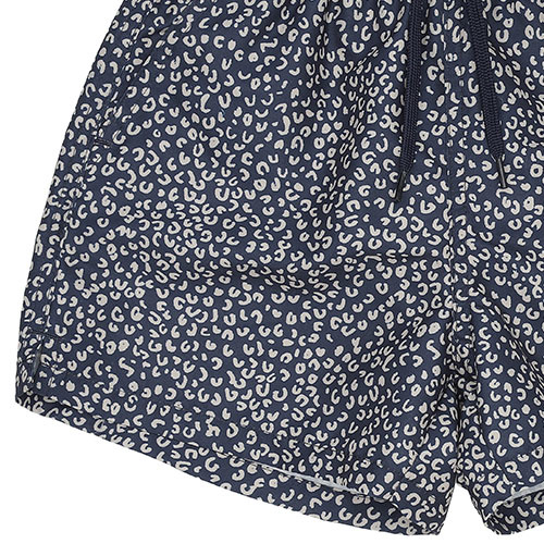 Soft Gallery Dandy Swim Pants Blue AOP Leospot (Zwembroek)-6