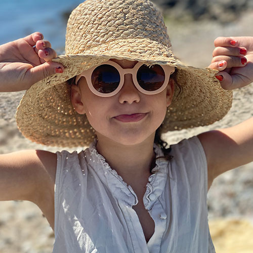 Grech & Co Sustainable Kids Sunglasses Shell (Zonnebril)-4
