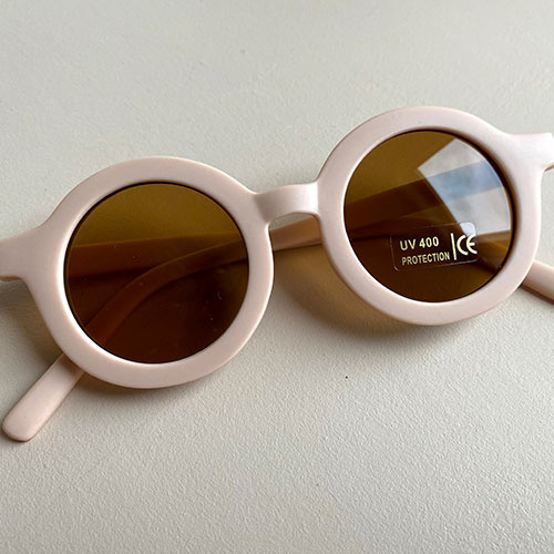 Grech & Co Sustainable Kids Sunglasses Shell (Zonnebril)-8