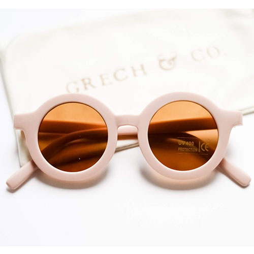 Grech & Co Sustainable Kids Sunglasses Shell (Zonnebril)-1