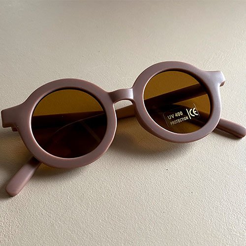 Grech & Co Sustainable Kids Sunglasses Burlwood (Zonnebril)-4