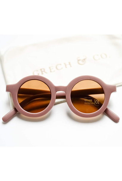 Grech & Co Sustainable Kids Sunglasses Burlwood (Zonnebril)