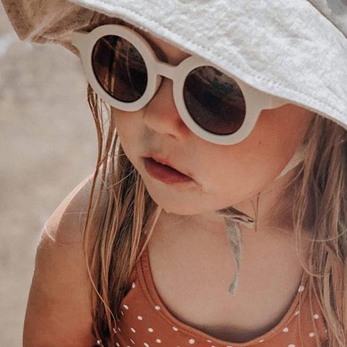 Grech & Co Sustainable Kids Sunglasses Buff (Zonnebril)-3