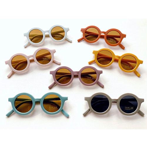 Grech & Co Sustainable Kids Sunglasses Buff (Zonnebril)-8