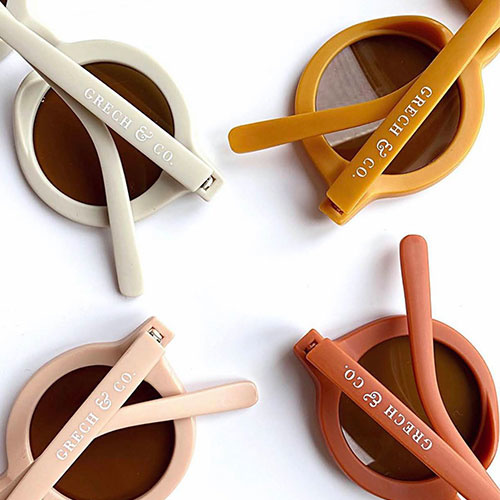 Grech & Co Sustainable Kids Sunglasses Buff (Zonnebril)-7