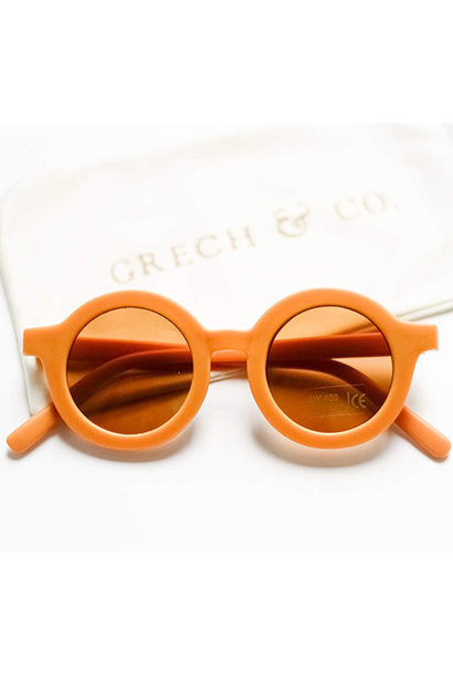 Grech & Co Sustainable Kids Sunglasses Golden (Zonnebril)