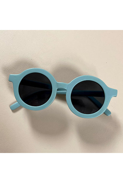 Grech & Co Sustainable Kids Sunglasses Light Blue (Zonnebril)