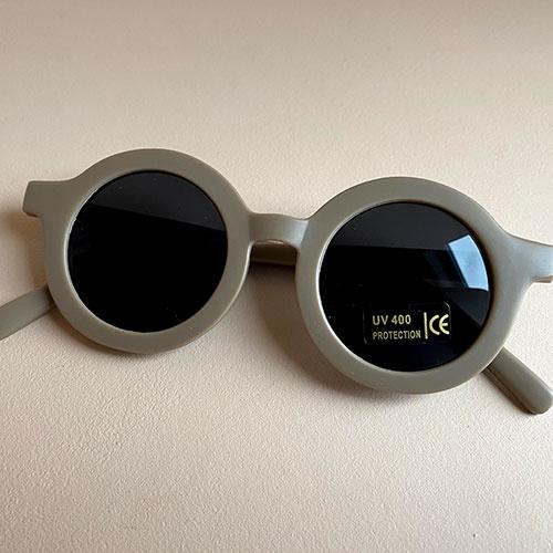 Grech & Co Sustainable Kids Sunglasses Stone (Zonnebril)-7