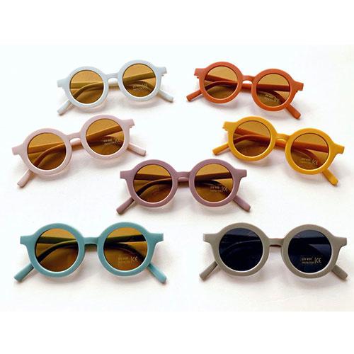 Grech & Co Sustainable Kids Sunglasses Stone (Zonnebril)-8