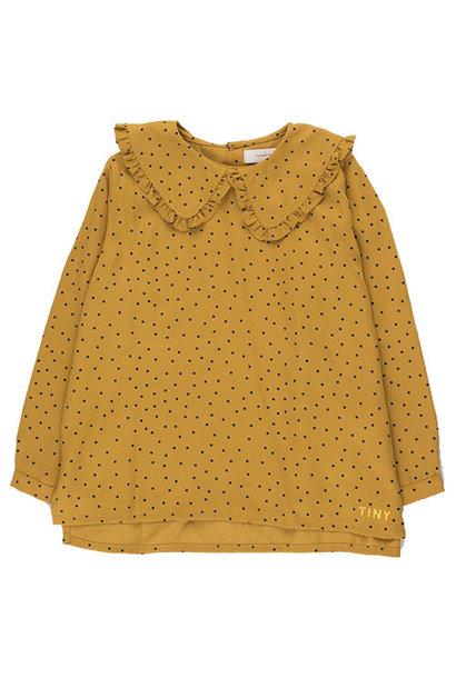 Tinycottons Tiny Dots Shirt mustard/navy (Top)