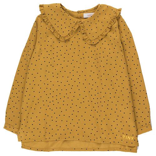 Tinycottons Tiny Dots Shirt mustard/navy (Top)-1
