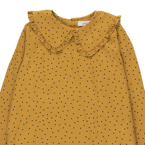 Tinycottons Tiny Dots Shirt mustard/navy (Top)-6