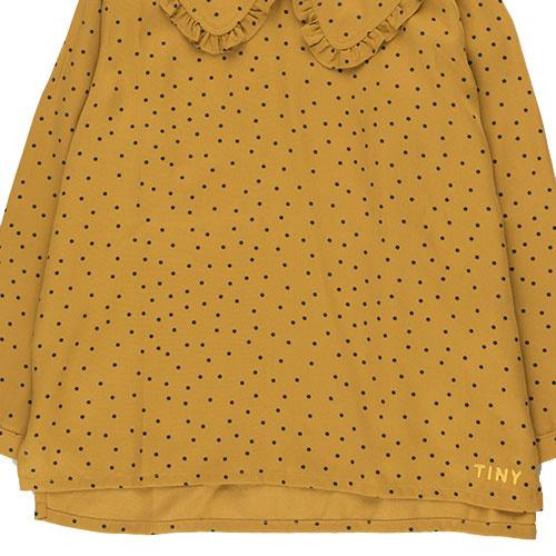 Tinycottons Tiny Dots Shirt mustard/navy (Top)-7