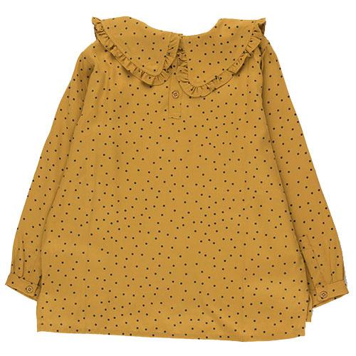 Tinycottons Tiny Dots Shirt mustard/navy (Top)-8