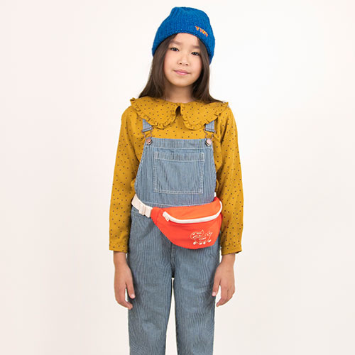 Tinycottons Tiny Dots Shirt mustard/navy (Top)-5