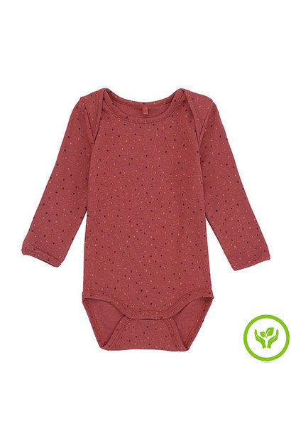 Soft Gallery Bob Body Barn Red AOP Trio Dotties (Romper)