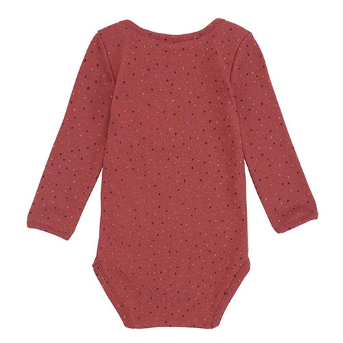 Soft Gallery Bob Body Barn Red AOP Trio Dotties (Romper)-5