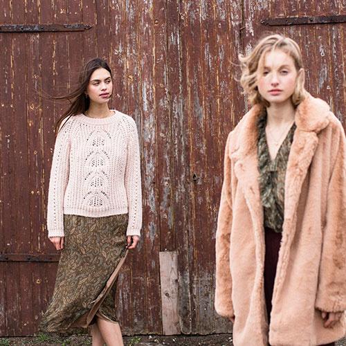 Louise Misha Women Skirt Yungalina Lurex Folk Flowers (Rok)-4