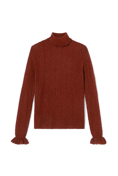 Louise Misha Women Jumper Saresti Chestnut (Trui)
