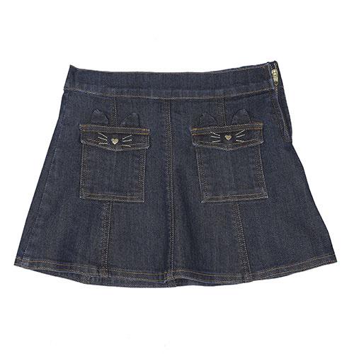 Emile et Ida Jupe Denim Skirt (Rok)-1