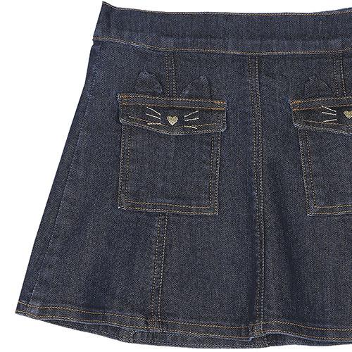 Emile et Ida Jupe Denim Skirt (Rok)-2