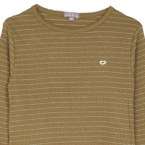 Emile et Ida Tee Shirt Ecorce (Shirt)-2