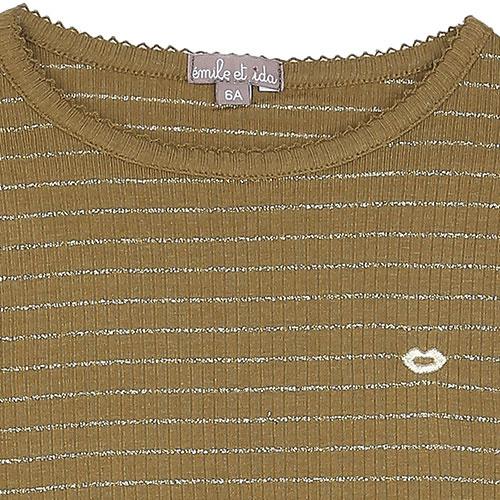Emile et Ida Tee Shirt Ecorce (Shirt)-4