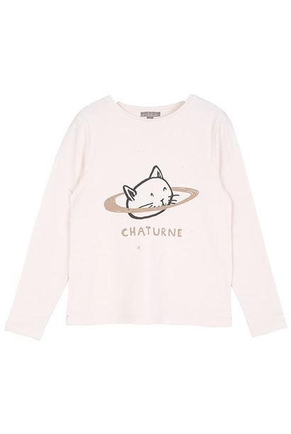 Emile et Ida Tee Shirt Chaturne Ecru (Shirt)
