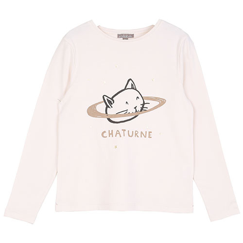 Emile et Ida Tee Shirt Chaturne Ecru (Shirt)-1