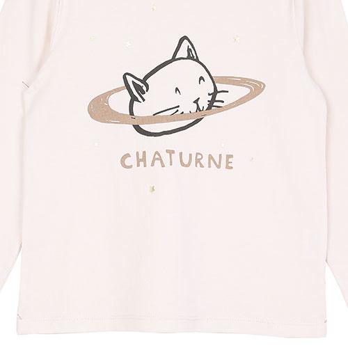 Emile et Ida Tee Shirt Chaturne Ecru (Shirt)-3