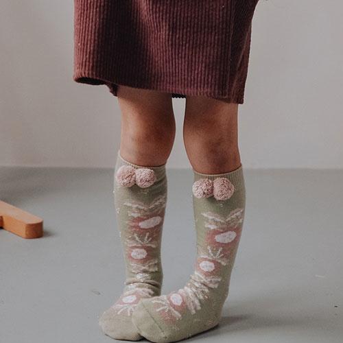 Louise Misha Socks Chavka Khaki (Sokken)-4
