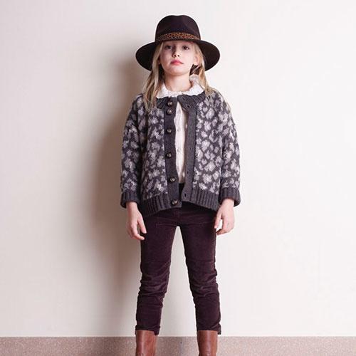 Tocoto Vintage Velvet Elastic Pants with 4 Pockets Dark Brown (Broek)-2