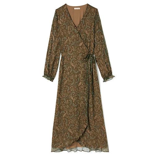 Louise Misha Woman Dress Emelyna Lurex Folk Flowers (Jurk)-1