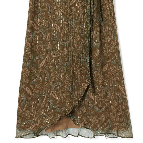 Louise Misha Woman Dress Emelyna Lurex Folk Flowers (Jurk)-8