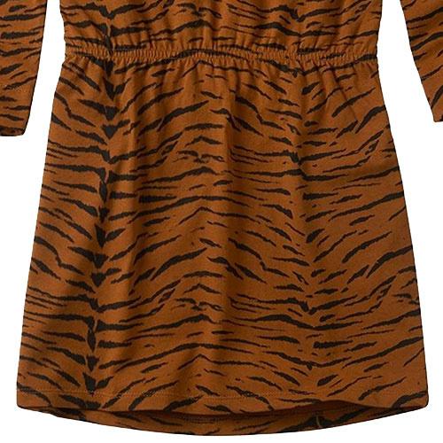 Sproet & Sprout Dress print Tiger Caramel (Jurk)-4