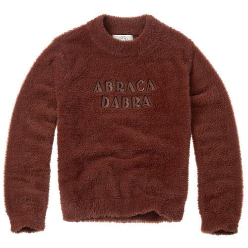 Sproet & Sprout Fuzzy Sweater Abracadabra Chocolate (Trui)-1
