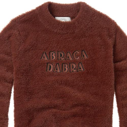 Sproet & Sprout Fuzzy Sweater Abracadabra Chocolate (Trui)-6