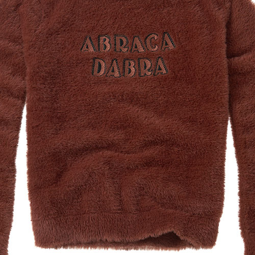 Sproet & Sprout Fuzzy Sweater Abracadabra Chocolate (Trui)-7