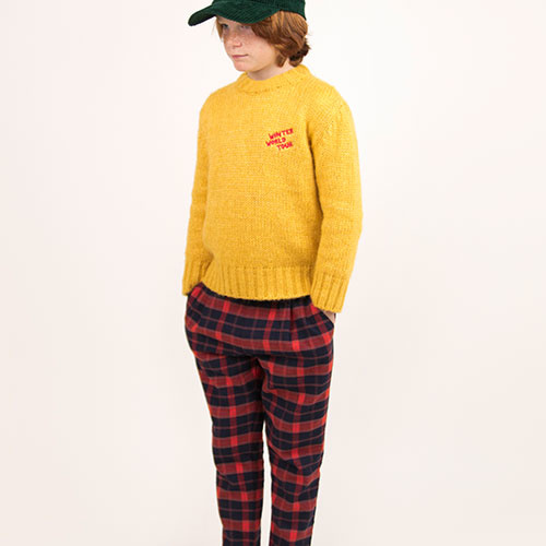 "Tinycottons ""Winter World Tour"" Sweater yellow (Trui)-3"