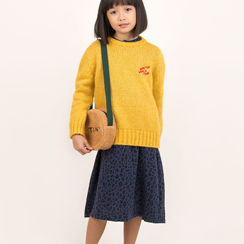 "Tinycottons ""Winter World Tour"" Sweater yellow (Trui)-2"