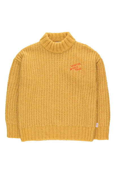 "Tinycottons ""Winter World Tour"" Sweater yellow (Trui)"