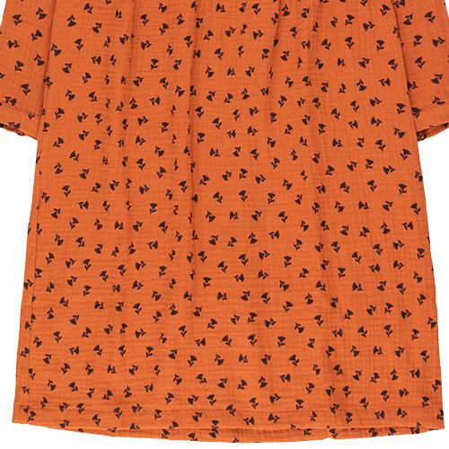Tinycottons Tiny Flowers Dress sienna/navy (Jurk)-6