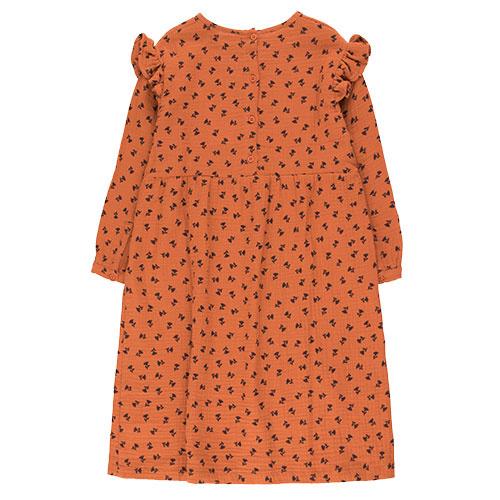 Tinycottons Tiny Flowers Dress sienna/navy (Jurk)-7