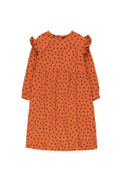 Tinycottons Tiny Flowers Dress sienna/navy (Jurk)
