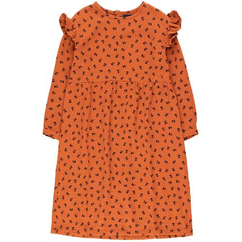 Tinycottons Tiny Flowers Dress sienna/navy (Jurk)-1