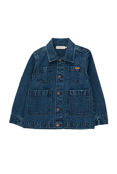 Tinycottons Winter World Tour Denim Jacket (Spijkerjas)