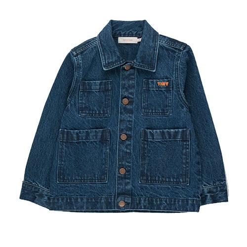 Tinycottons Winter World Tour Denim Jacket (Spijkerjas)-1