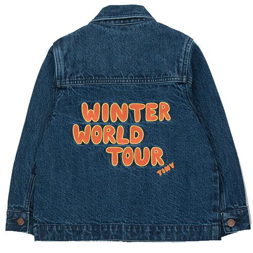 Tinycottons Winter World Tour Denim Jacket (Spijkerjas)-2