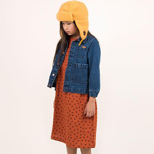 Tinycottons Winter World Tour Denim Jacket (Spijkerjas)-3