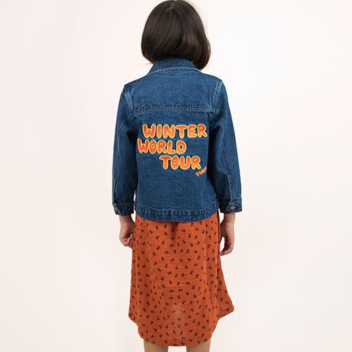 Tinycottons Winter World Tour Denim Jacket (Spijkerjas)-4